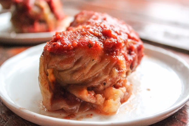 Authentic Polish Stuffed Cabbage