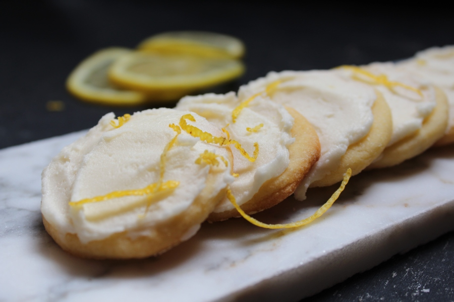 Fresh Lemon Tea Cookies