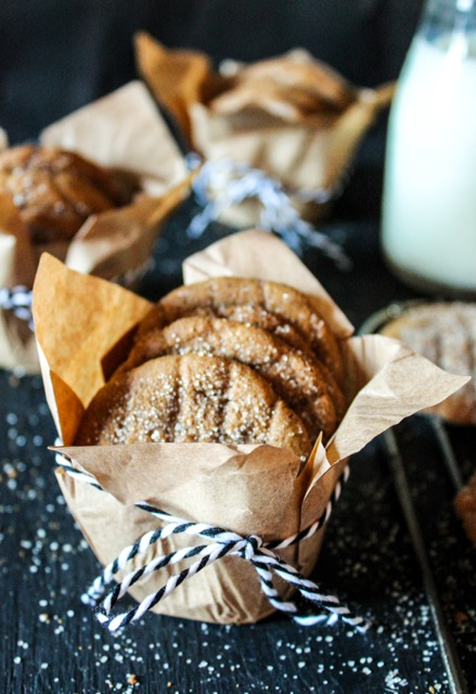 Ginger and Molasses Cookies, Deliciously Dairy-Free & Gluten Free