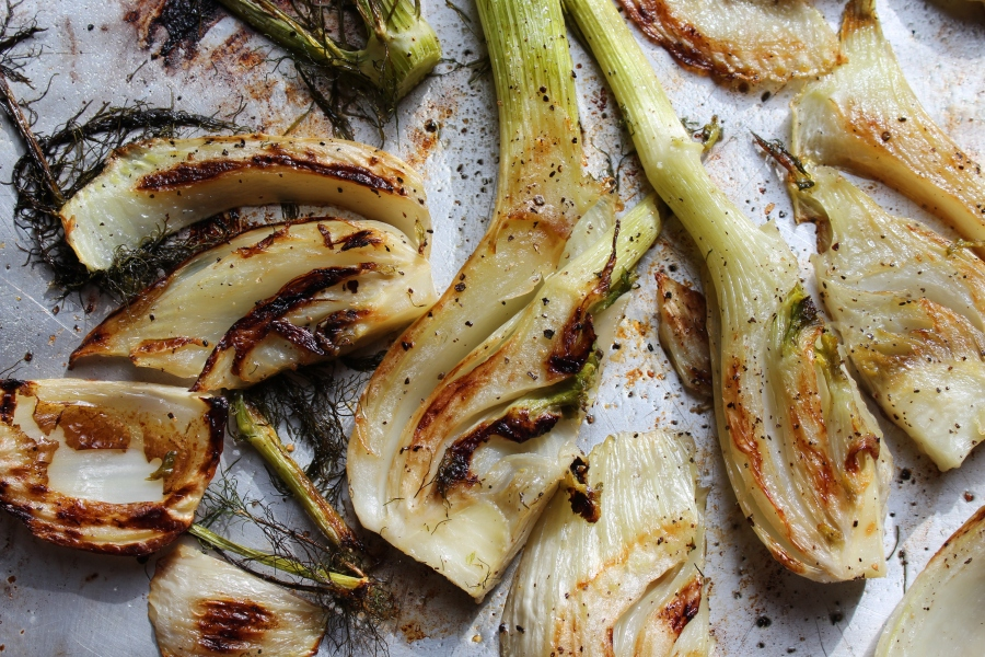 Vegetarian and Vegan Roasted Fennel