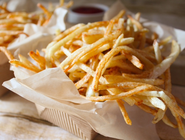 Michigan Shoestring French Fries