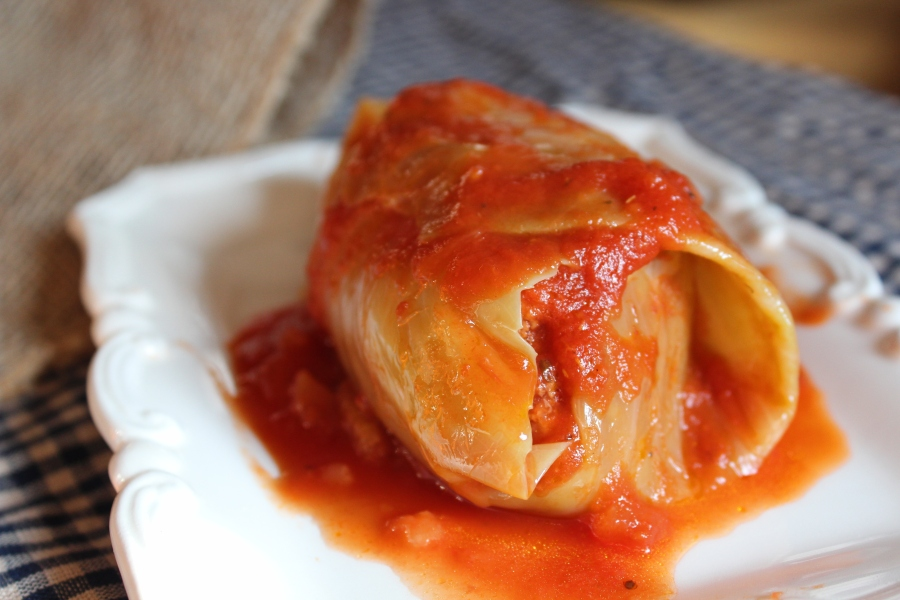 Polish Stuffed Cabbage / Galumpki