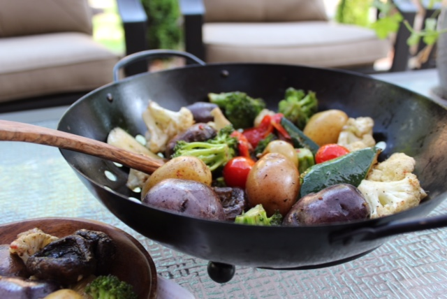 Grilled Italian Herb Vegetables