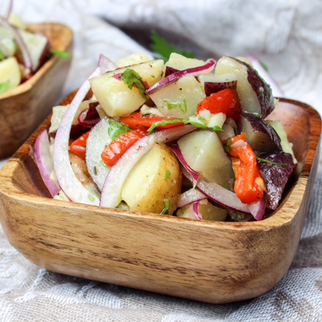 Vegan Italian Potato Salad