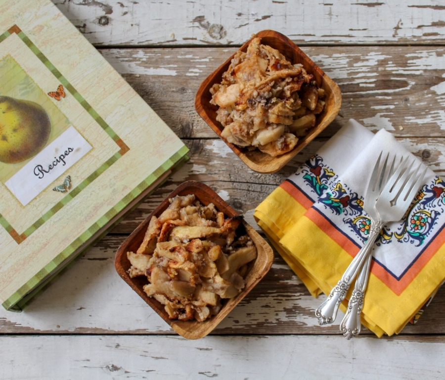 Quick and Easy Apple Crisp DF/V/GF