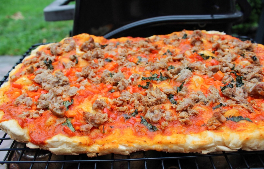Summertime 'Pizza al Forno' – no oven necessary