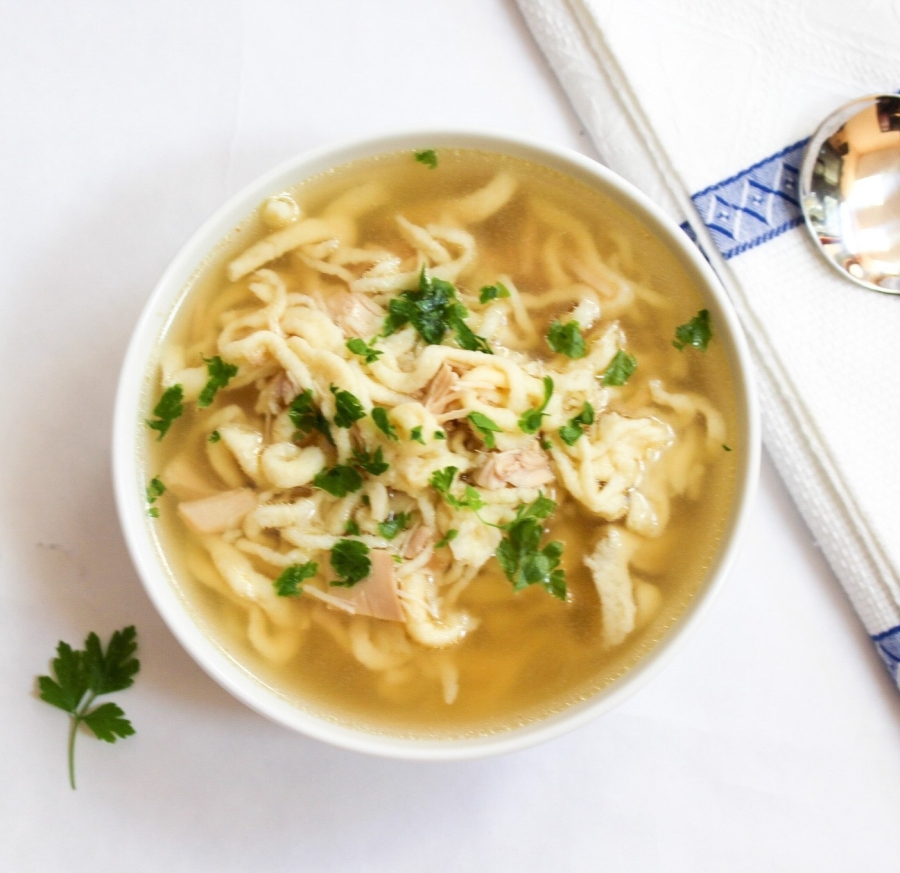 ROSÓŁ – Polish Chicken Bone Soup