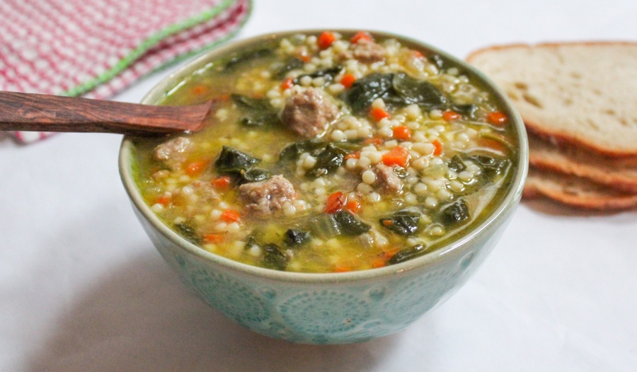 It's almost National Soup Month, this Italian Wedding Soup will become your favorite